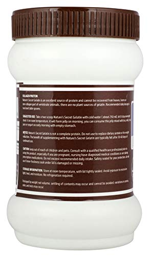411Sk023W8L - Nature's Secret Gelatin Specially Formulated For Joint Pain Reliever -200Gm