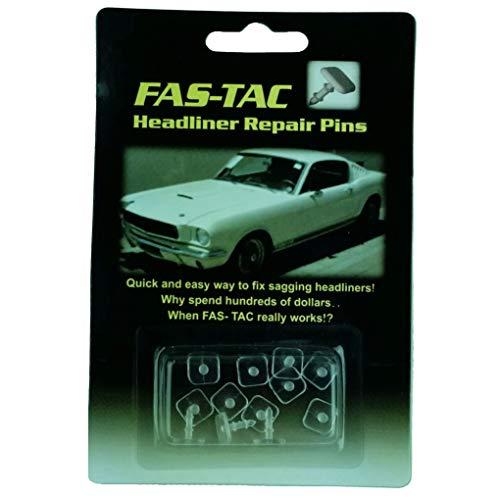 Fas-Tac Automotive Headliner Repair Pins Kit (Clear)