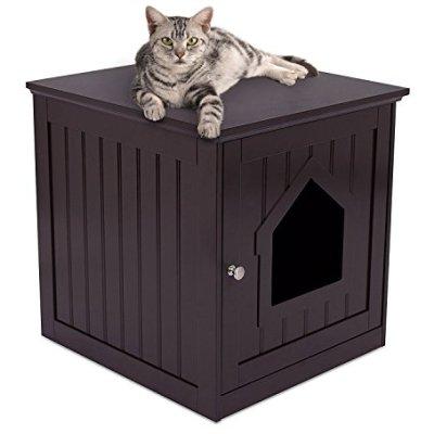 Internet's Best Decorative Cat House & Side Table –...