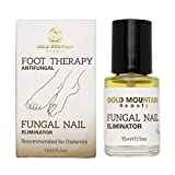 Gold Mountain Beauty Fungal Nail Eliminator with Tolnaftate and Puredia SeaBerry, Foot Therapy Antifungal Treatment for toenail Fungus formulated by a Physician, Brush On Oil, 0.5oz Bottle