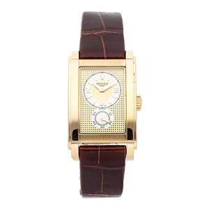 Rolex Cellini Mechanical (Hand-Winding) Champagne Dial Mens Watch 5440/8 (Certified Pre-Owned)
