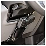 CCW Tactical Car Holster Gun Mount for Truck Steering Column Universal Concealed Weapon or Flashlight Holder - Easy Install Bedside, Under Desk, Office - Fits Most Handguns and Small Revolvers