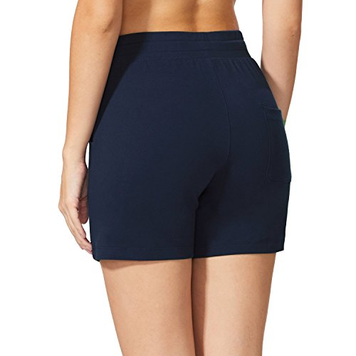 "Baleaf Women's 5"" Activewear Yoga Lounge Shorts with Pockets 2 Fashion Online Shop gifts for her gifts for him womens full figure"