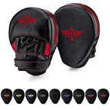 Elite Sports Boxing Punch Focus Mitts - for MMA, Kickboxing, Muay Thai Sparring