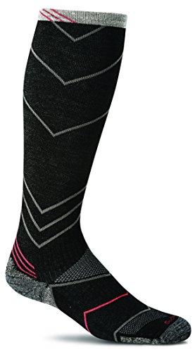 Sockwell Men's Incline Compression Socks, Black, Large/X-Large