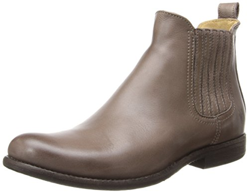 411votjSyDL Low-heel ankle boot with Chelsea-style goring inserts concealed by stitched strips Pull-on loop with logo medallion at heel Debossed logo at heel