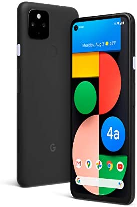 Google Pixel 4a with 5G – Android Phone – New Unlocked Smartphone with Night Sight and Ultrawide Lens – Just Black
