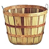 5 Peck Field Basket, Natural, with Handles, 18' Dia
