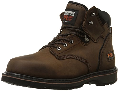 Timberland PRO Men's Pitboss 6' Soft-Toe Boot,Brown,12 M