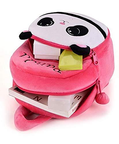 412 WIfJ8EL - Black Hill Cute Kids Backpack Toddler Bag Plush Animal Cartoon Mini Travel Bag for Baby Girl Boy 1-6 Years (Pink-Panda)