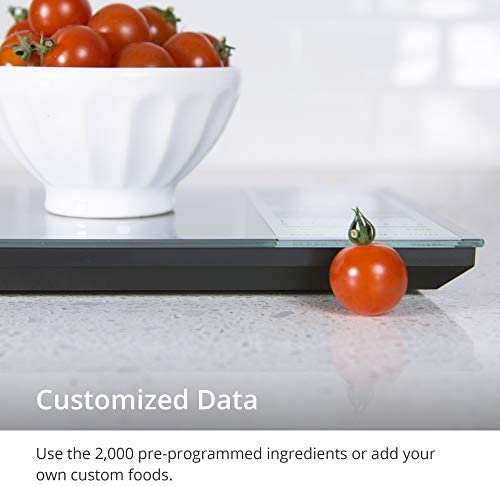 GreaterGoods Nourish Digital Kitchen Food Scale, Not-Connected, Digital Food Code App Download Included (New Backlit) 6