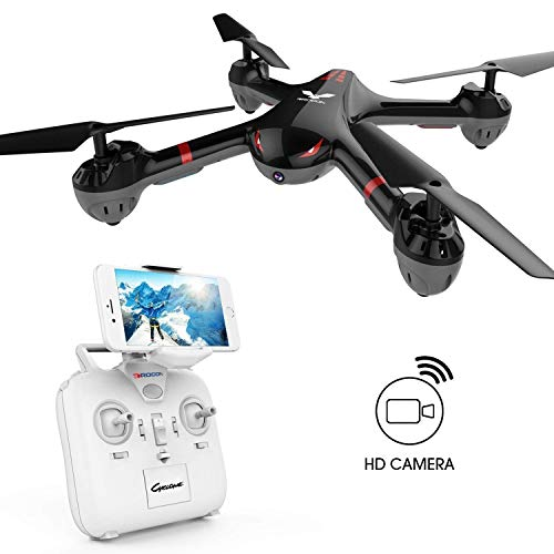 DROCON Drone for Beginners X708W Wi-Fi FPV Training Quadcopter with HD Camera