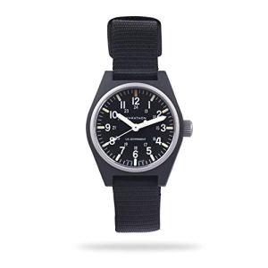 Marathon Watch WW194009-BK General Purpose Quartz Swiss Made Military Field Army Watch (GPQ) with MaraGlo and Sapphire Crystal (34mm, Black)