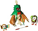Pokemon Decidueye Evolution 3 inch Action Figure - Rowlet
