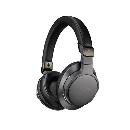 Audio Technica ATH-SR6BTBK Sound Reality Bluetooth Headphones Over EarHigh Resolution Black