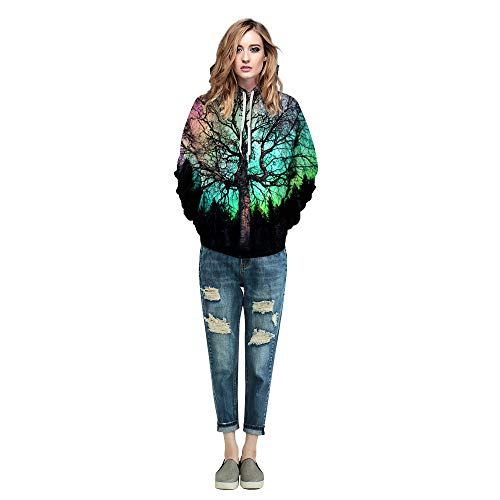 Azuki Unisex Fashion 3D Digital Printed Pullover Hoodies 4 Fashion Online Shop gifts for her gifts for him womens full figure