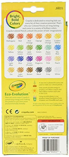 Crayola Colored Pencils Long 24 in a Pack