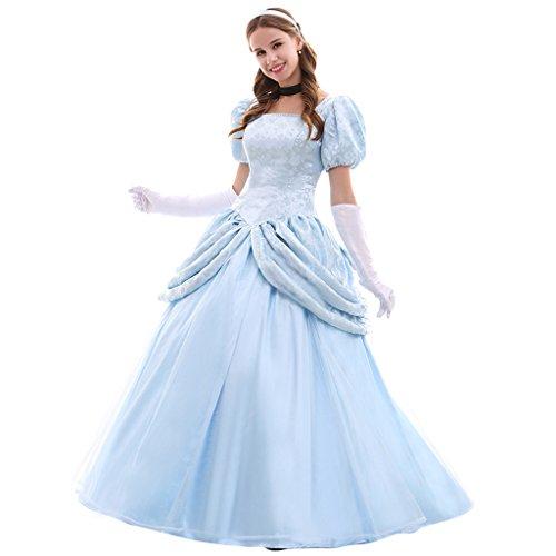Women's Halloween Fancy Dress Princess Costume Dress Set