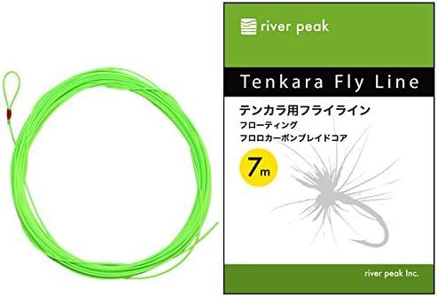 Amazon | river peak(リバーピーク) テンカラ用フライラインフローティング | リバーピーク(river peak) | ライン