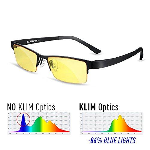 lunettes anti lumiere bleue sans correction