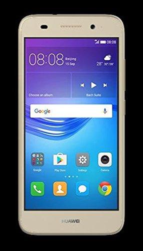 "Huawei Y5 Lite 2017 CRO-L23 5.0"" 4G LTE Quad Core 8GB 8MP Smarthphone Factory Unlocked (Gold) (International Version- No Warranty)"