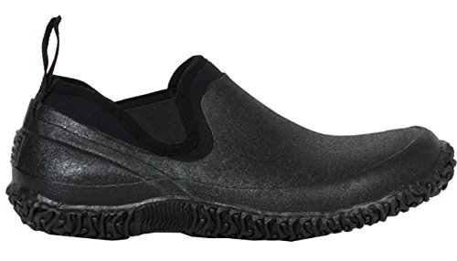 Bogs Men's Urban Walker Low Waterproof Work Rain Boot, Black, 11 D(M) US