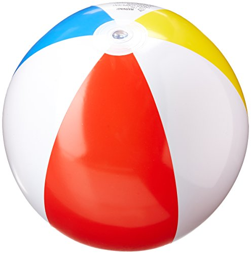 Intex FBA_59020EP 3 Pack Glossy Panel Colorful Beach Ball Inflatable Pool, 20