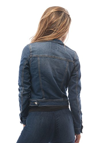 Hollywood Star Fashion Womens Basic Button Down Denim Jean Jacket 15 Fashion Online Shop gifts for her gifts for him womens full figure
