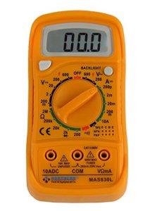 Northern Tool MAS830L AC DC 600V Digital Pocket Multimeter Voltage Tester