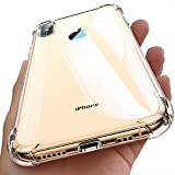 Ainope Case Compatible iPhone Xs Max Case Clear, iPhone X Max Case Clear with 4 Corners Protection, Protective Cover with Soft Scratch-Resistant TPU Compatible iPhone Xs Max 6.5 inch 2018 (Clear)