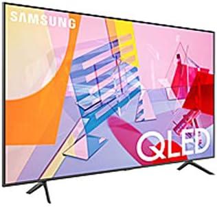 SAMSUNG Q60T QN50Q60TAF 49.5″ Smart LED-LCD TV – 4K UHDTV – Titan Gray – Quantum Dot LED Backlight – Bixby, Google Assistant, Alexa Supported – Tizen – Dolby (Renewed)