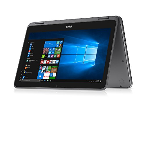 Dell Inspiron 11 3000 2-in-1 Convertible Touchscreen Laptop/Tablet PC, AMD  A6-9220e Processor up to 2 4 GHz, 4GB DDR4, 32GB eMMC SSD, WiFi, Webcam,