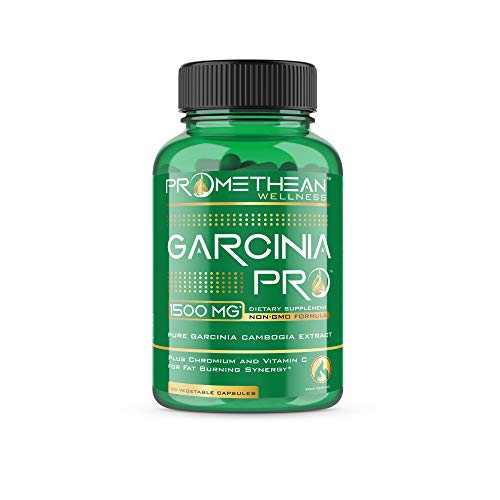 Garcinia PRO 100% Pure Garcinia Cambogia Extract for Weight Loss 1500mg Lose Fast Best Belly Fat Burner Pills Ultra Premium Natural HCA Metabolism Booster Carb Blocker Curb Appetite 90 capsules