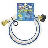 Valterra 1/2' x 4' W01-5048 AquaFresh High Pressure Drinking Water Hose-1/2, White
