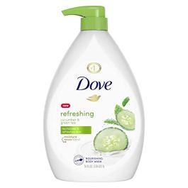Dove Body Wash with Pump with Skin Natural Nourishers for Instantly Soft Skin and Lasting Nourishment Deep Moisture…