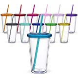 Maars Classic Insulated Tumblers 16 oz. | Double Wall Acrylic | 12 pack