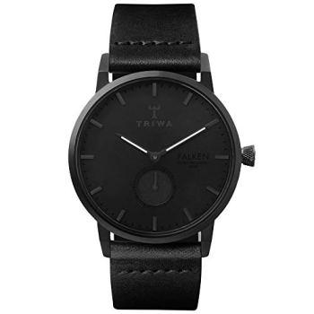 TRIWA Falken Men's Minimalist Dress Watch - Luxury Wrist Watches for Men, 38mm