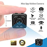 Mini Hidden Spy Camera - Shop360z Security Nanny Dash Cam with Motion Detection and Night Vision, Full HD 1080p Indoor/Outdoor for Home, Car and Office with Easy User Guide