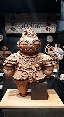 Free Shipping. jōmon 火焔 Ware/30cm Life-Size Niigata 長岡 Hawaii-based jōmon Ware Writer Will