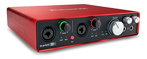 Focusrite Scarlett 6i6 (2nd Gen) USB Audio Interface with Pro Tools   First