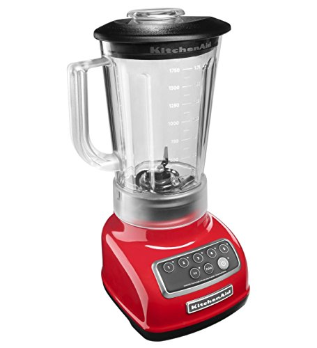 KitchenAid KSB1570ER 5-Speed Blender with 56-Ounce BPA-Free...