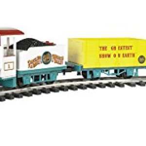 """Bachmann Trains – Ringling Bros. and Barnum & Bailey – LI'L Big Top Ready To Run Electric Train Set – Large """"G"""" Scale 41323lE9wAL"""