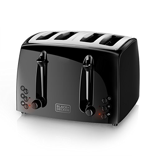 BLACKDECKER-4-Slice-Toaster-Extra-Wide-Black-TR1410BD