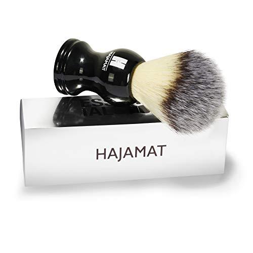 HAJAMAT Men's Shaving Brush (Black) 20