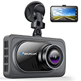 VStarcam Dash Cam 1080P FHD DVR CAR Driving Recorder,170° Super Wide Angle Dash Camera with Super Night Vision,3' LCD Screen Camera For Cars,Dashboard Cam with G-Sensor,WDR,Parking Monitor,Loop Record