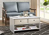 2L Lifestyle B12400004-W Westfield Coffee Table, White