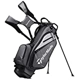 TaylorMade 2019 Golf Select Stand Bag, Gray/Black