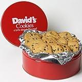 David's Cookies Sugar Free Chocolate Chip Fresh Baked Cookies 2 lb Tin