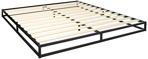 Zinus Joesph Modern Studio 6 Inch Platforma Low Profile Bed Frame / Mattress Foundation / Box Spring Optional / Wood Slat Support, King