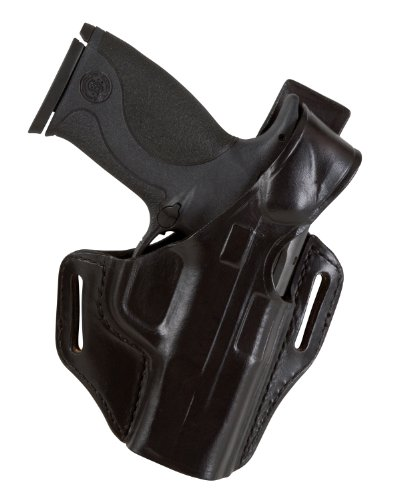 Bianchi 56 Serpent Holster Fits Glock 26, 27, 33 (Black, Right Hand)